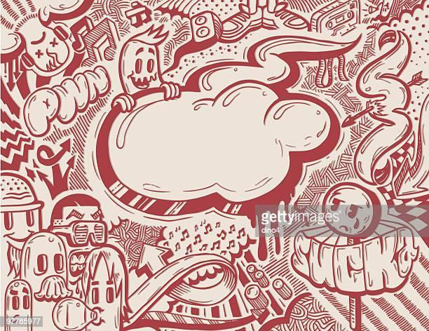 illustrazioni stock, clip art, cartoni animati e icone di tendenza di musicfreaks dos - rappresentazione umana