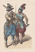musketeer pikeman during thirty years war