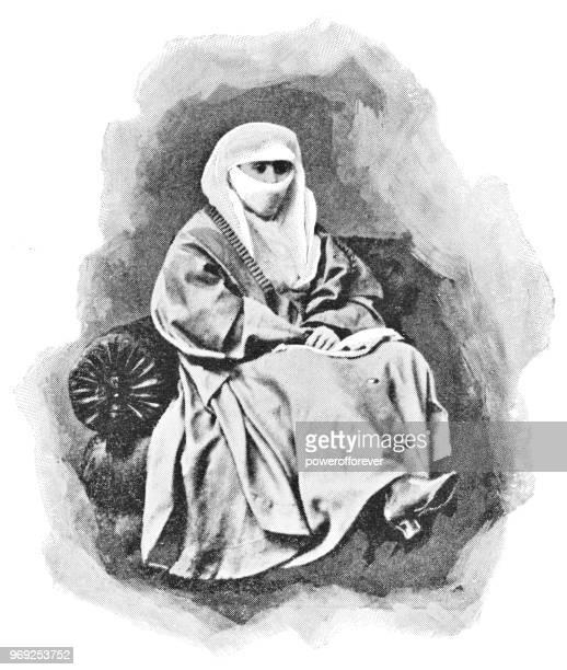 Muslim Woman in Istanbul, Turkey - Ottoman Empire