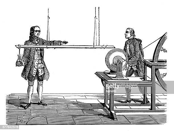 musschenbroek experiment - rod stock illustrations, clip art, cartoons, & icons