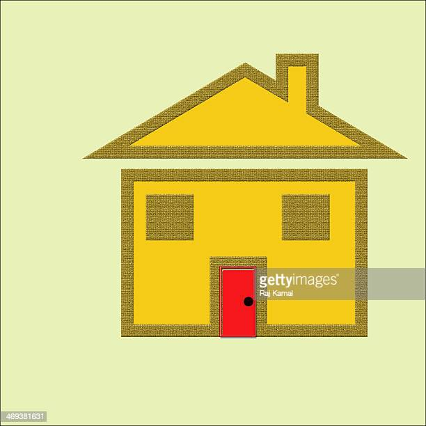 My House Creative Abstract Design