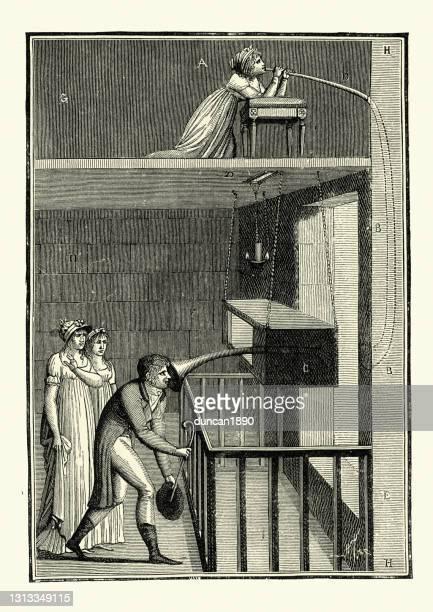 神秘的な目に見えない女性のトリック、フランス1800 - 1800~1809年点のイラスト素材/クリップアート素材/マンガ素材/アイコン素材