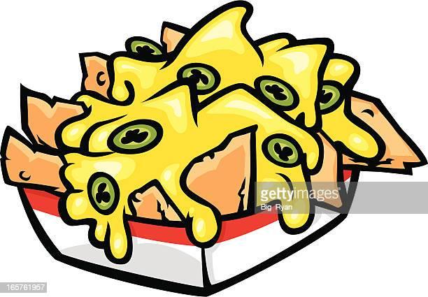 nachos - nachos stock illustrations