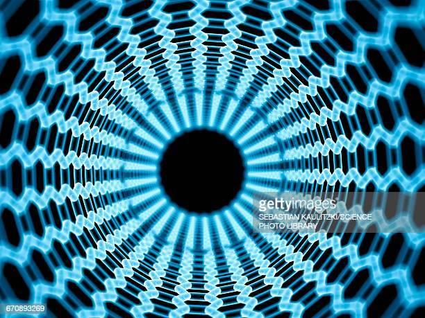 nano tube - nanotechnology stock illustrations