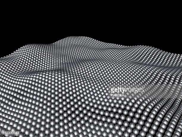 nanospheres, computer artwork - nanotechnology stock illustrations, clip art, cartoons, & icons