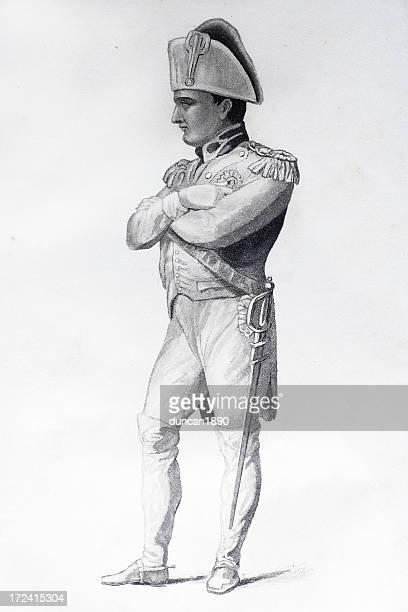 illustrations, cliparts, dessins animés et icônes de napoléon bonaparte - guerres napoléoniennes