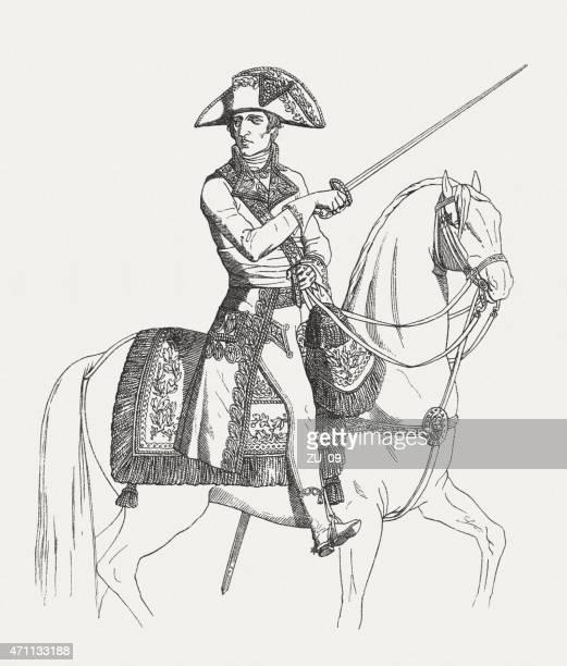 illustrations, cliparts, dessins animés et icônes de napoléon ier que le premier consul, publ.   1881 - guerres napoléoniennes
