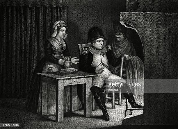 illustrations, cliparts, dessins animés et icônes de empereur napoléon bonaparte français - guerres napoléoniennes