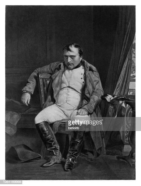napoleon bonaparte - emperor stock illustrations
