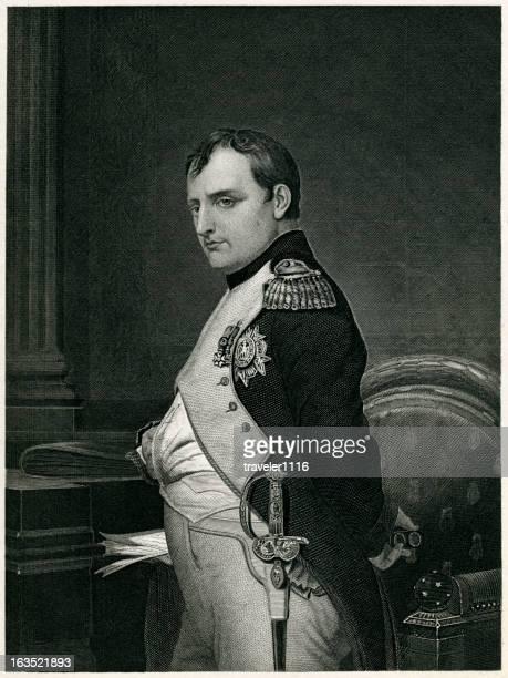 illustrazioni stock, clip art, cartoni animati e icone di tendenza di napoleone bonaparte - napoleone