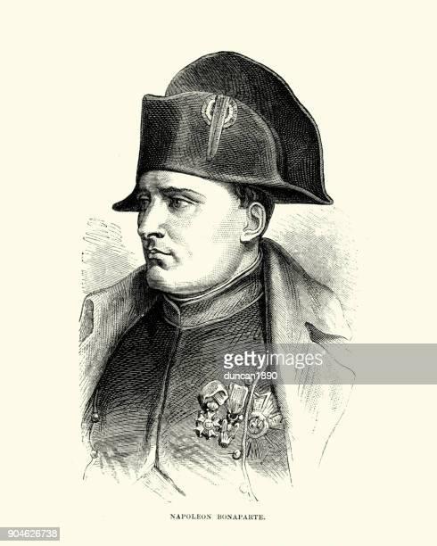 ilustraciones, imágenes clip art, dibujos animados e iconos de stock de napoleon bonaparte - cultura francesa