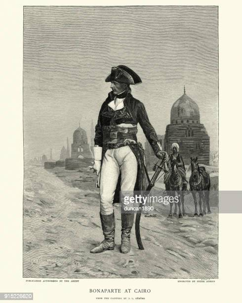 illustrations, cliparts, dessins animés et icônes de napoléon bonaparte au caire - guerres napoléoniennes
