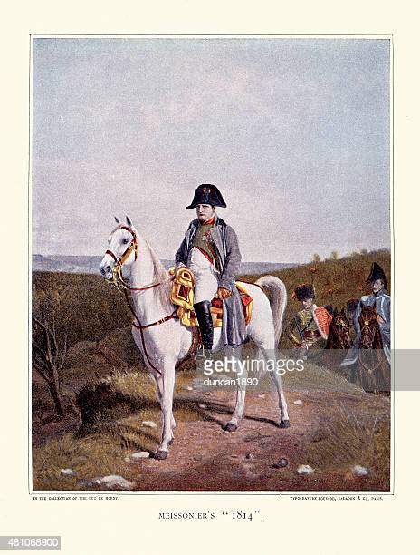 Napoleon Bonaparte on Horseback 1814