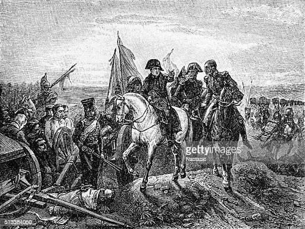 illustrations, cliparts, dessins animés et icônes de napoléon bonaparte chevauchant un cheval - guerres napoléoniennes