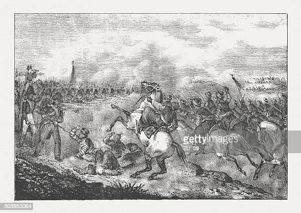 Napoleon during the Battle of Abukir (1799), published in 1840