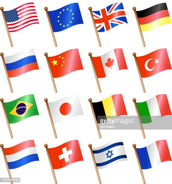 nationalflagge-set - israel stock-grafiken, -clipart, -cartoons und -symbole