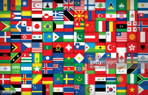 national flags background - national flag stock illustrations