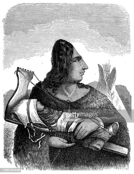Native American Indian,  Flatheads Indian