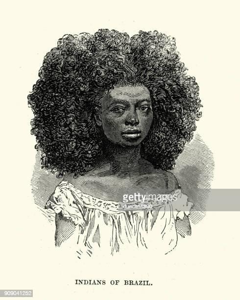 Native woman of Brazil, 19th Century