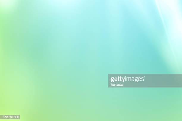 Nature Defocused Abstract Background Green