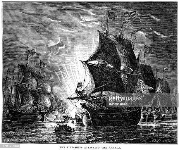 Naval Warfare - Fire Ships