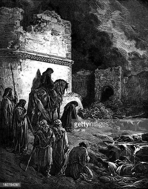 Nehemiah exhorts the Israelites
