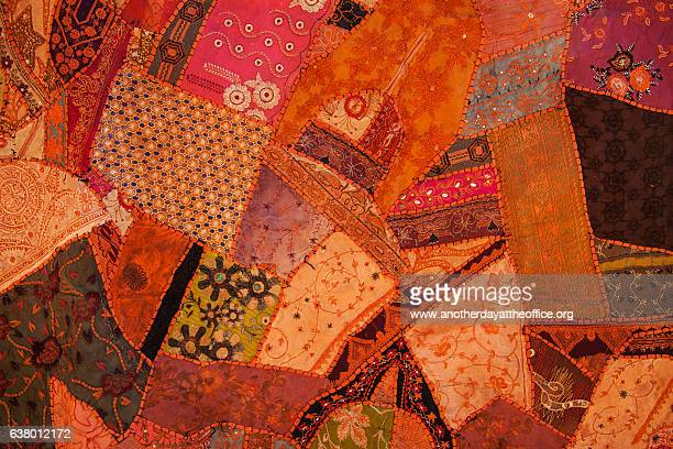 nepal patchwork - quilt stock illustrations, clip art, cartoons, & icons