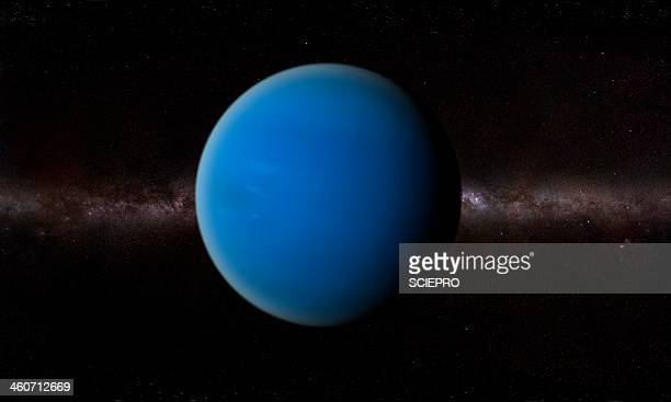neptune, artwork - neptune planet stock illustrations