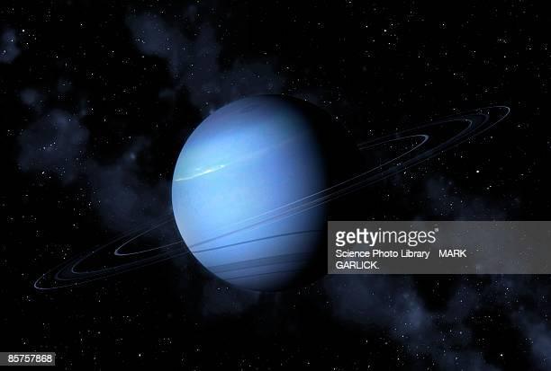 neptune, close-up - neptune planet stock illustrations