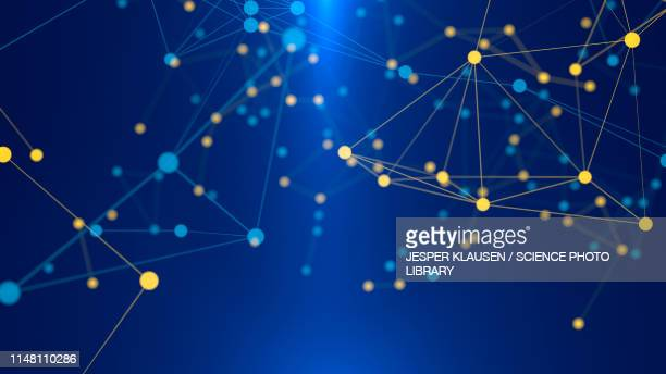 network, abstract illustration - spotted stock illustrations