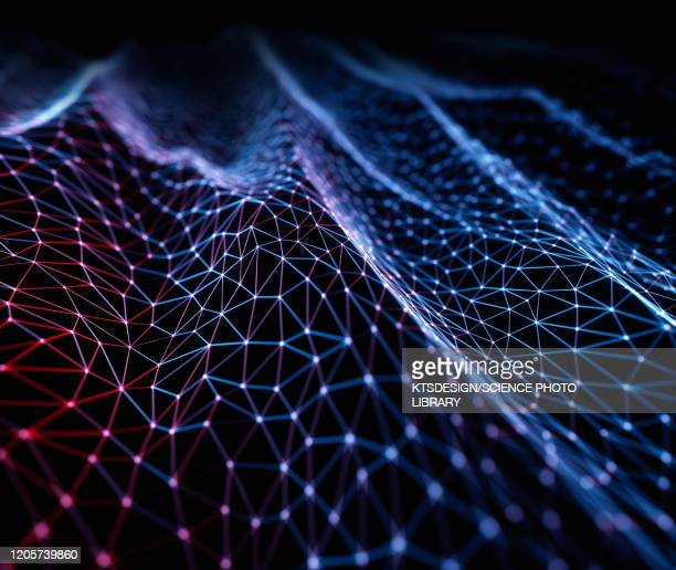 network, conceptual illustration - nerve cell stock illustrations