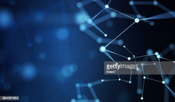 network technology background - technology stock illustrations