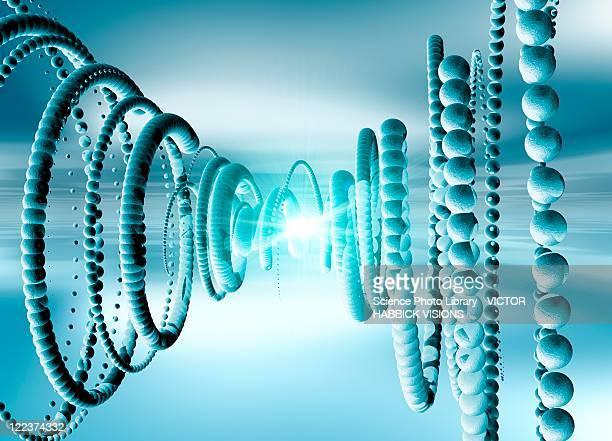 Neutrinos, conceptual artwork