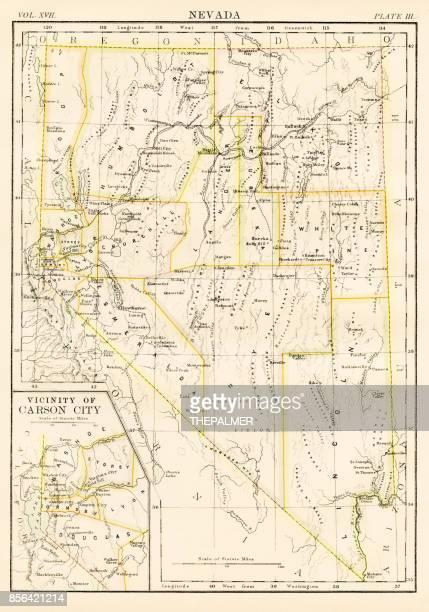 60 Top Carson City Stock Illustrations, Clip art, Cartoons, & Icons Carson City Nv Map on
