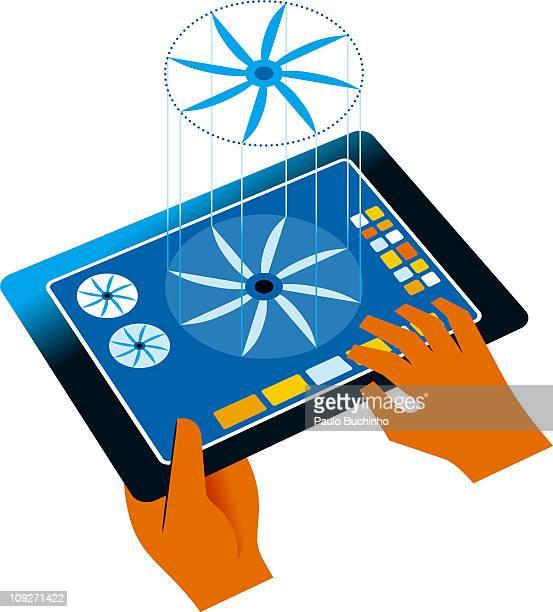 ilustrações de stock, clip art, desenhos animados e ícones de new technology - buchinho