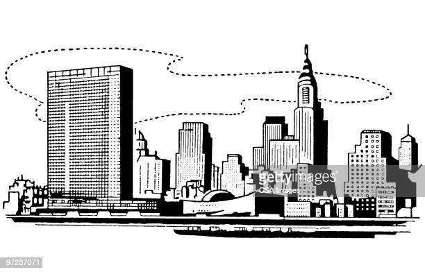 new york - image stock illustrations