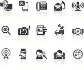 News Icons | Simple Black Series