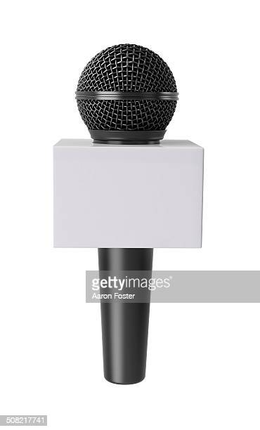 news mmicrophone - メディア機材点のイラスト素材/クリップアート素材/マンガ素材/アイコン素材