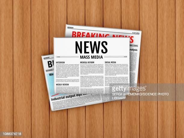 newspapers, illustration - journalism stock illustrations