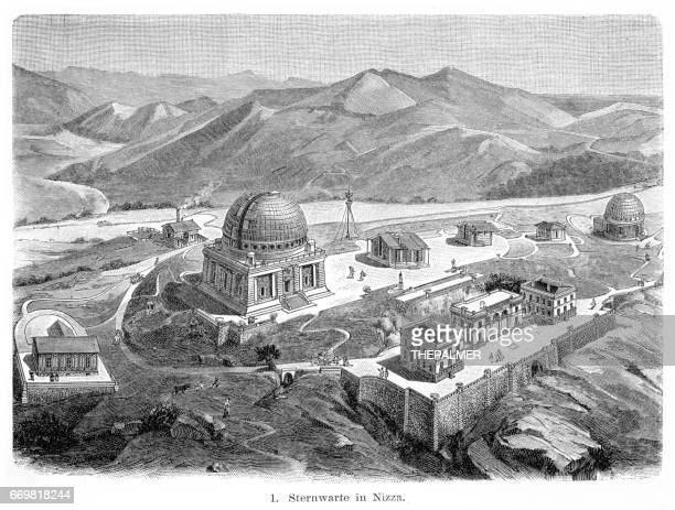 Nice Observatory engraving 1895
