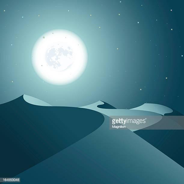 Nacht-Wüste