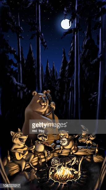 nightmare - driftwood stock illustrations