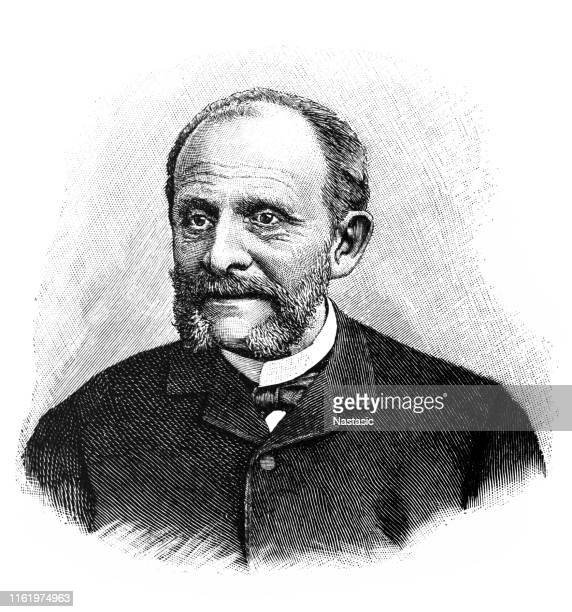 nikolay de girs or giers was the russian foreign minister, 1882-1895, during the reign of alexander iii - statesman stock illustrations