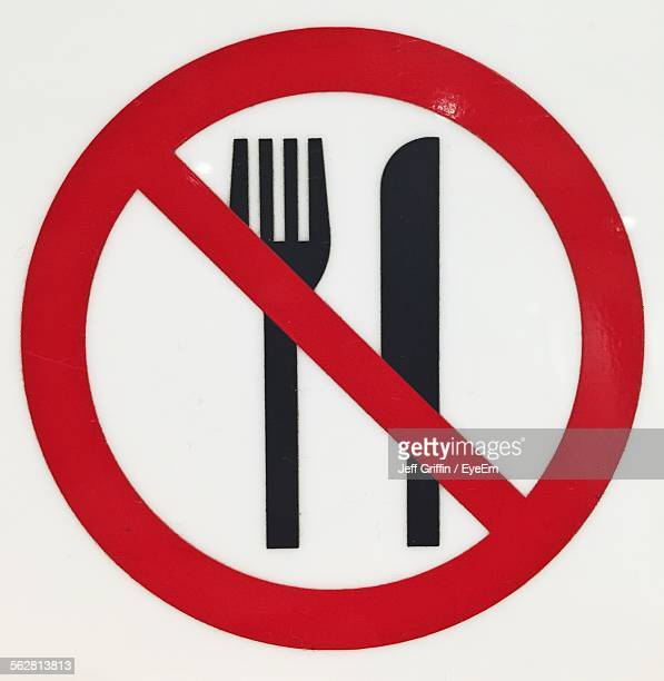 no food sign in detail - 2015 stock illustrations