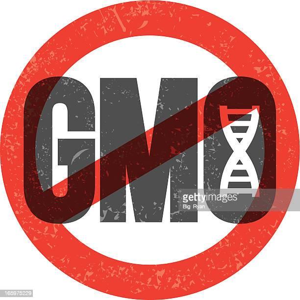no gmo - genetic modification stock illustrations, clip art, cartoons, & icons