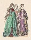 noble ladies english princess right 14th