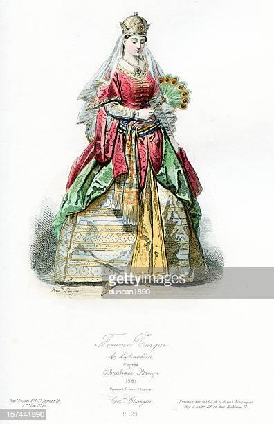 Noble Turkish Lady