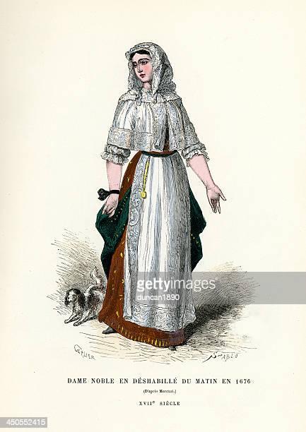 高貴な女性 17 世紀の