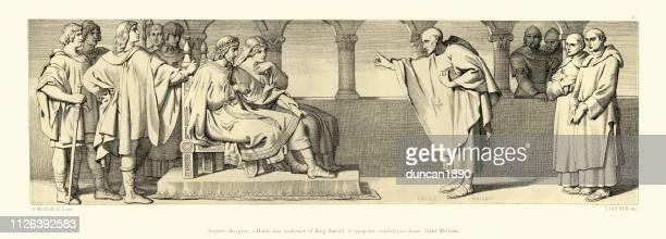 Normandische verovering, Hugues Maigrot, heeft publiek van koning Harold