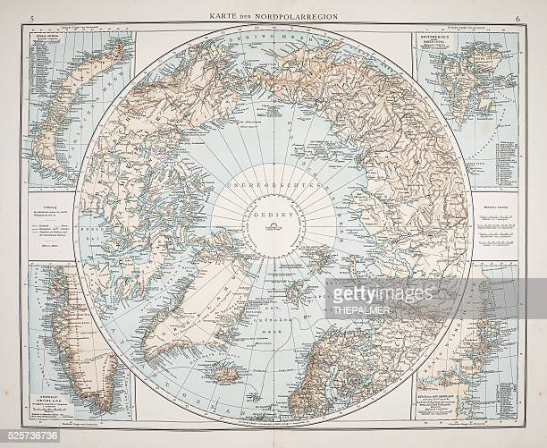 North Polar Chart 1895